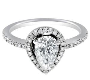Pear Cut Diamonds