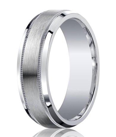 designer argentium silver mens ring - Wedding Ring For Him