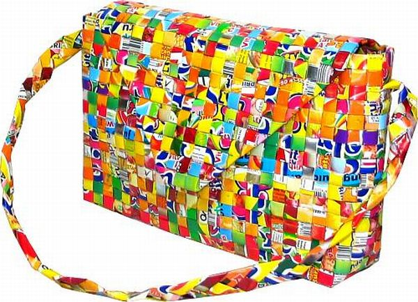 Bags Made Out Of Candy Wrers