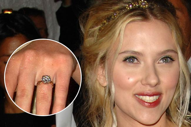 Scarlett Johansson could get engaged in 2018  MSN