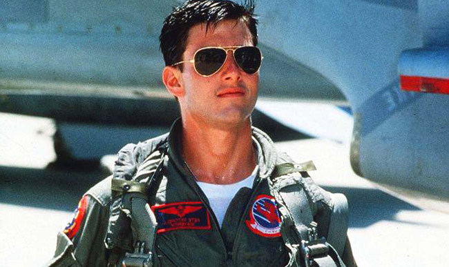 Top Gun Aviator Sunglasses  top 3 movies where tom cruise looked dashing in sunglasses chicmags