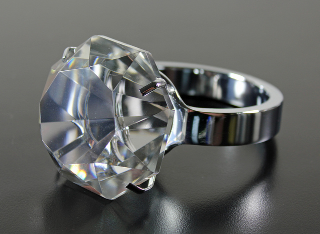 Shiny Diamond Rings