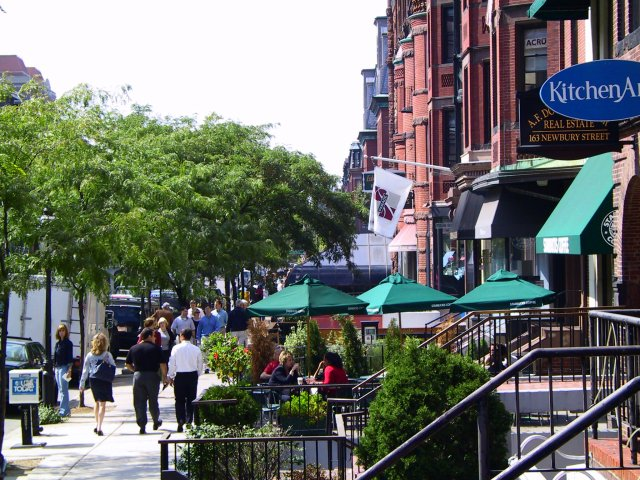 Restaurants On Newbury St Boston Ma