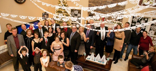 the guests at the surprise birthday party Keep the plans for your surreptitious celebration between you and your guests browse surprise birthday party invitations that make the process foolproof.