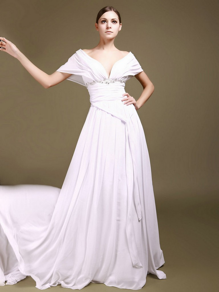 Wedding amazing dress: Hourglass body wedding dress