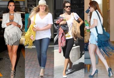 Boho Fringed Bags