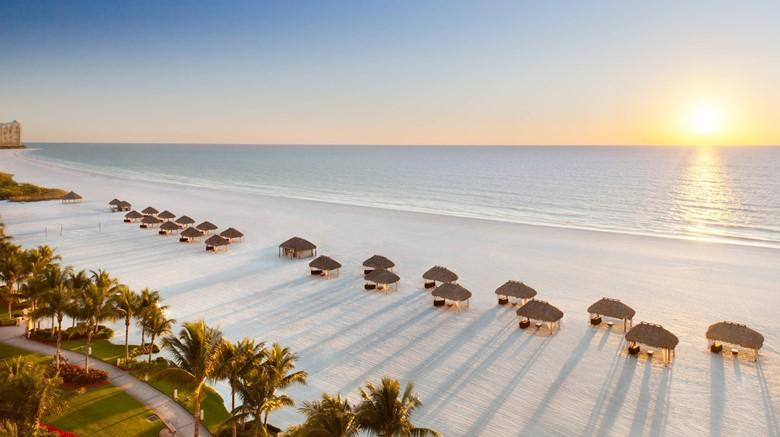 Marco Island, Florida beach