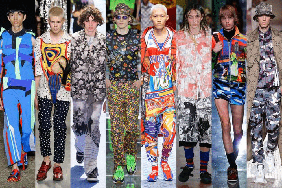 Spring Summer 2019 Men S Fashion Trends What Fashion Giants